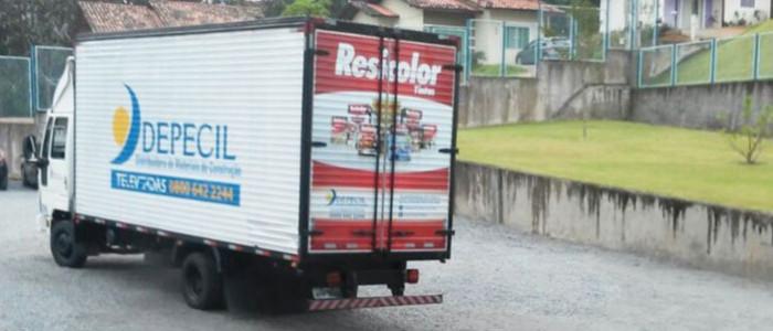 Caminhão do Distribuidor Depecil